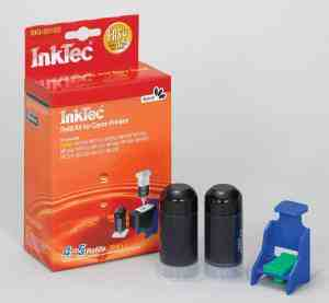 Inktec refill kit for PG-510 / PG-512 Black Cartridges