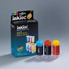InkTec refill for Brother LC700 colour inkjet ink cartridges