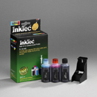 PHOTO COLOUR REFILL KIT FOR - 18C0031E - (No 31) & Dell J4844 / U5553 - inkjet cartridges